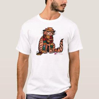 Fourth Doctor Cat T-shirt! T-Shirt