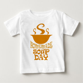 Fourth February - Homemade Soup Day Baby T-Shirt