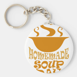 Fourth February - Homemade Soup Day Keychain