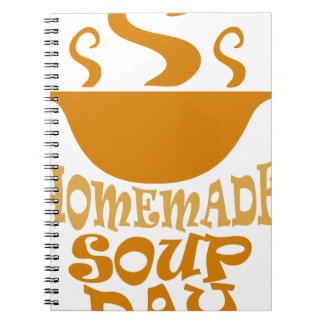 Fourth February - Homemade Soup Day Notebooks