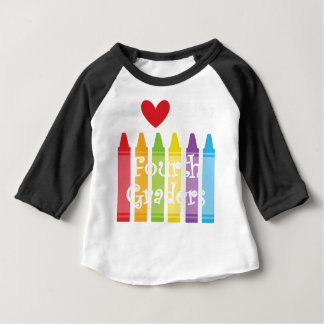 Fourth grade teacher2 baby T-Shirt