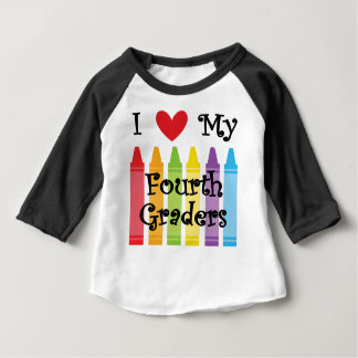 Fourth grade teacher baby T-Shirt