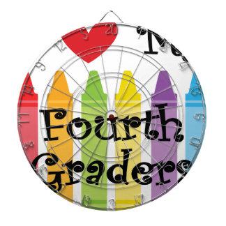 Fourth grade teacher dartboard