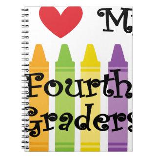 Fourth grade teacher notebook