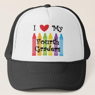 Fourth grade teacher trucker hat