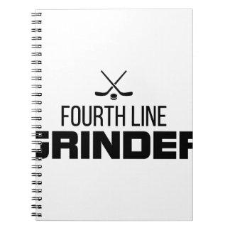 Fourth Line Grinder Notebook