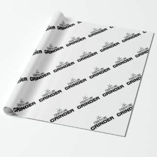 Fourth Line Grinder Wrapping Paper