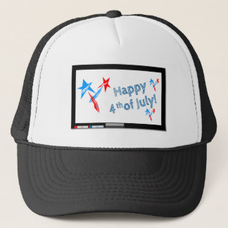 Fourth-of-July #2 Trucker Hat