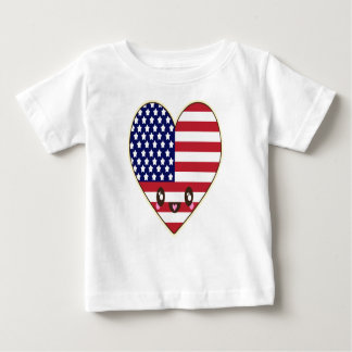 Fourth Of July 4 Baby T-Shirt