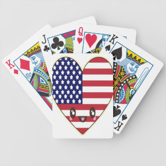 Fourth Of July 4 Bicycle Playing Cards