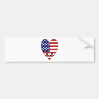 Fourth Of July 4 Bumper Sticker