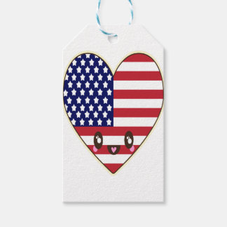 Fourth Of July 4 Gift Tags