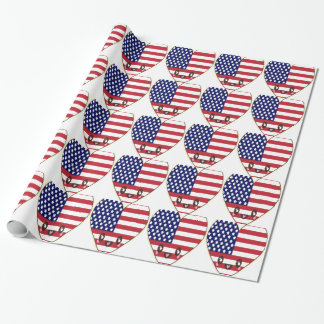 Fourth Of July 4 Wrapping Paper