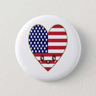 Fourth Of July 4th 2 Inch Round Button