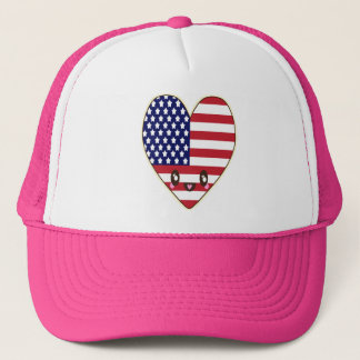 Fourth Of July 4th Trucker Hat