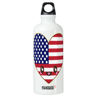 Fourth Of July 4th Water Bottle