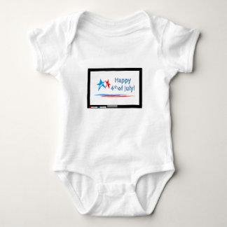 Fourth-of-July Baby Bodysuit