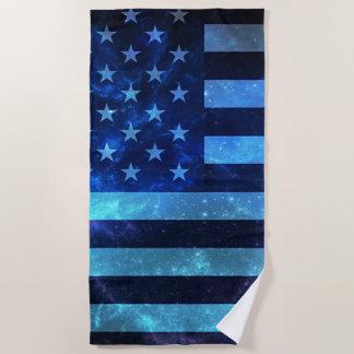 Fourth of July Beach Towel
