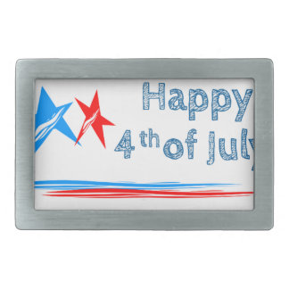 Fourth-of-July Belt Buckles