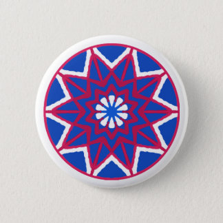 Fourth of July Button! Show your pride! 2 Inch Round Button
