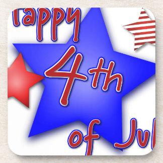 Fourth of July Celebration Coaster