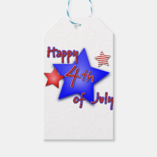 Fourth of July Celebration Gift Tags