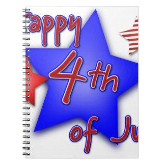 Fourth of July Celebration Notebook