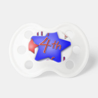 Fourth of July Celebration Pacifier
