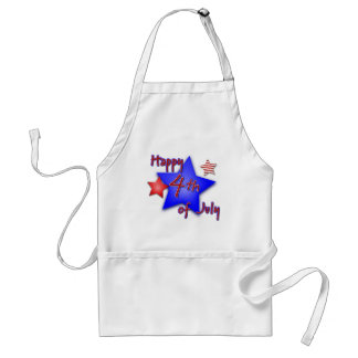 Fourth of July Celebration Standard Apron