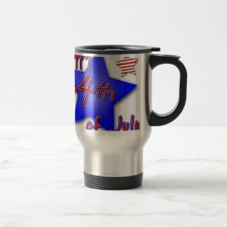 Fourth of July Celebration Travel Mug