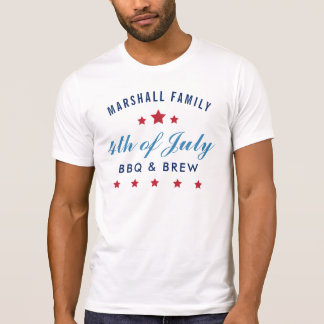 Fourth of July   Custom Party T-Shirt
