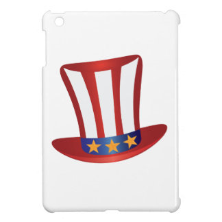 Fourth of July Hat Gold Stars Illustration iPad Mini Cases