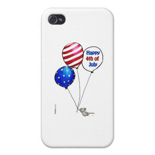 Fourth of July -  Have a day off. iPhone 4 Cover