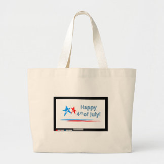 Fourth-of-July Large Tote Bag