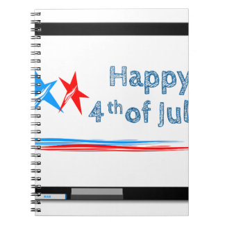Fourth-of-July Notebooks