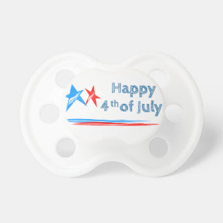 Fourth-of-July Pacifier