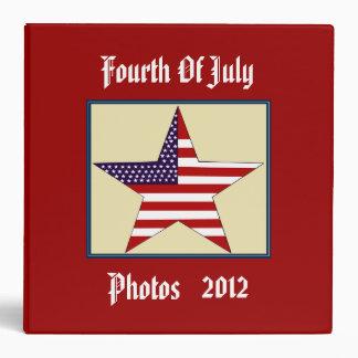 FOURTH OF JULY PHOTO Binder