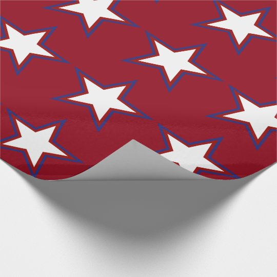 Fourth of July Red White and Blue Stars
