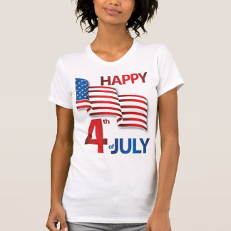 Fourth Of July Shirts With US Flag