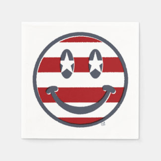 Fourth of July Smile! Disposable Napkins