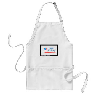 Fourth-of-July Standard Apron