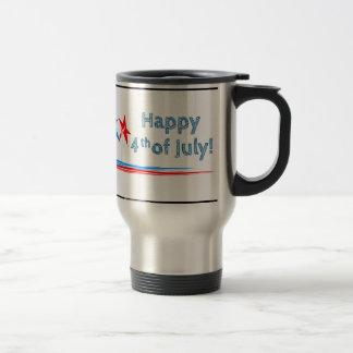 Fourth-of-July Travel Mug