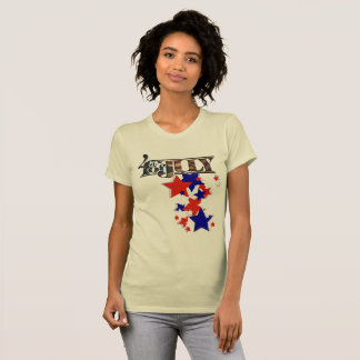 Fourth of July with stars T-Shirt