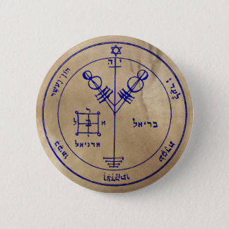 Fourth Pentacle of Jupiter 2 Inch Round Button