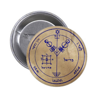 Fourth Pentacle of Jupiter 2 Inch Round Button