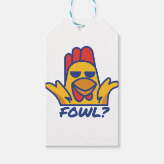 Fowl? Gift Tags