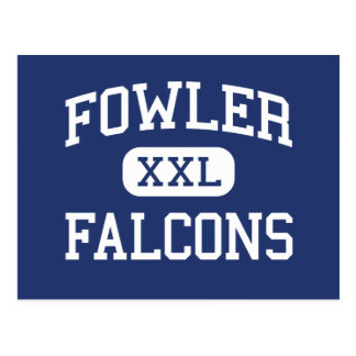 Fowler Falcons Middle School Portland Oregon Postcard