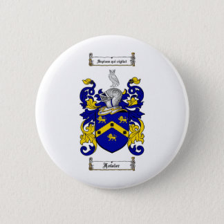 FOWLER FAMILY CREST -  FOWLER COAT OF ARMS 2 INCH ROUND BUTTON