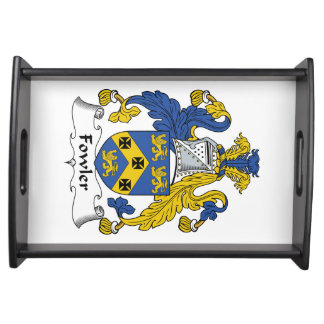 Fowler Family Crest Serving Tray