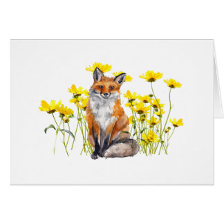 Fox All Occasion Notecard